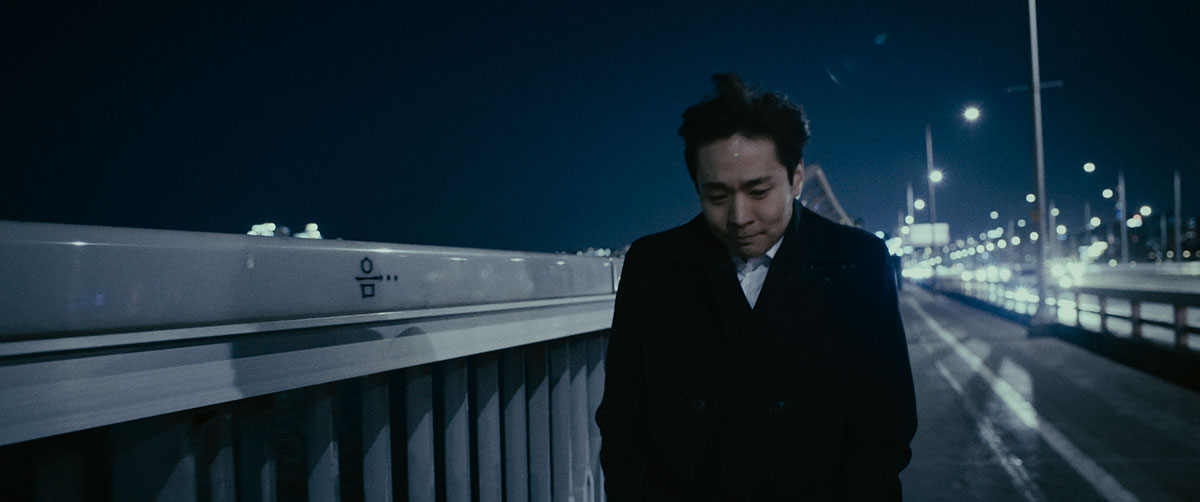 """Auf der Mapo Bridge in Seoul, die auch als """"Selbstmord-Brücke"""" bezeichnet wird"""
